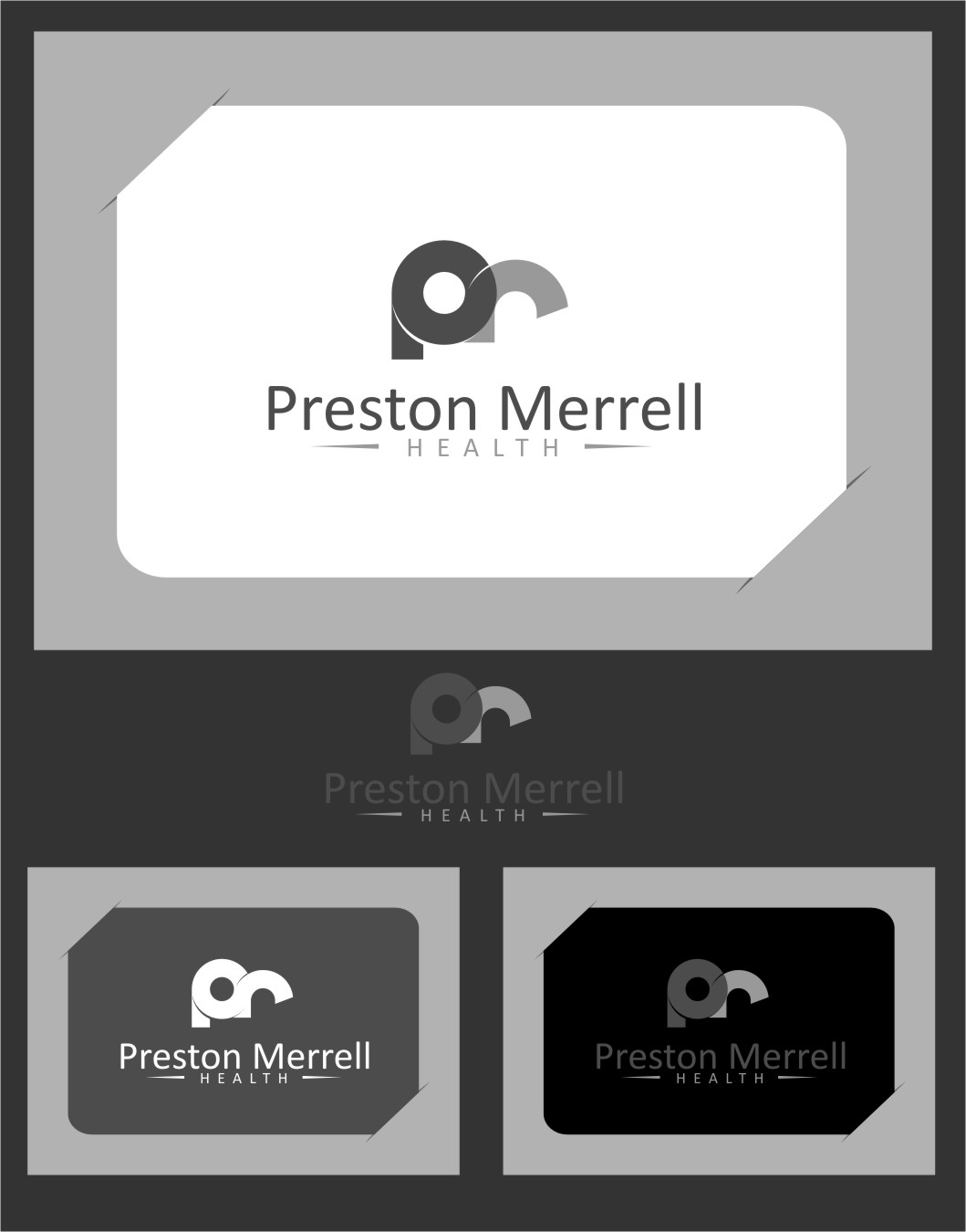 Logo Design by Ngepet_art - Entry No. 214 in the Logo Design Contest Creative Logo Design for Preston Merrell Health.