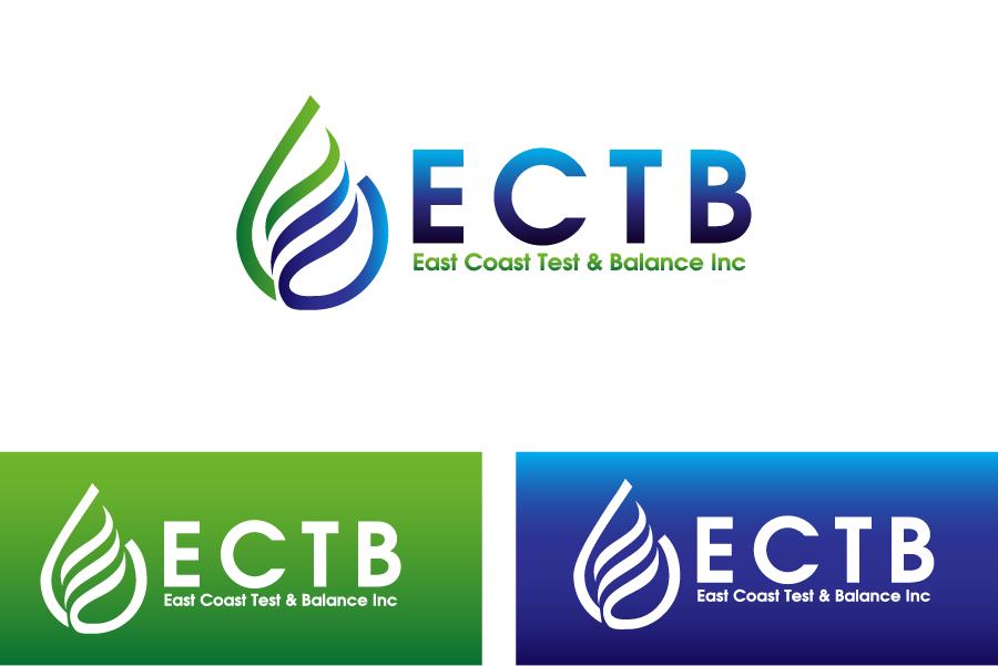 Logo Design by Private User - Entry No. 66 in the Logo Design Contest Logo Design for East Coast Test & Balance, Inc. (ECTB).