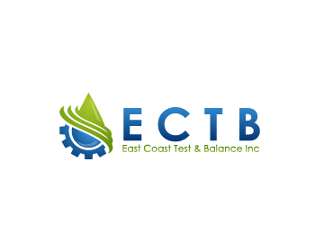 Logo Design by Private User - Entry No. 68 in the Logo Design Contest Logo Design for East Coast Test & Balance, Inc. (ECTB).