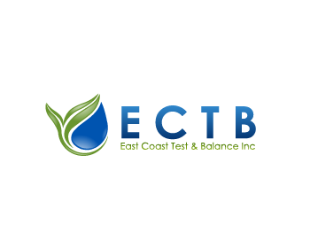 Logo Design by Private User - Entry No. 69 in the Logo Design Contest Logo Design for East Coast Test & Balance, Inc. (ECTB).