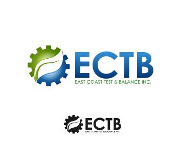 Logo Design by Private User - Entry No. 71 in the Logo Design Contest Logo Design for East Coast Test & Balance, Inc. (ECTB).