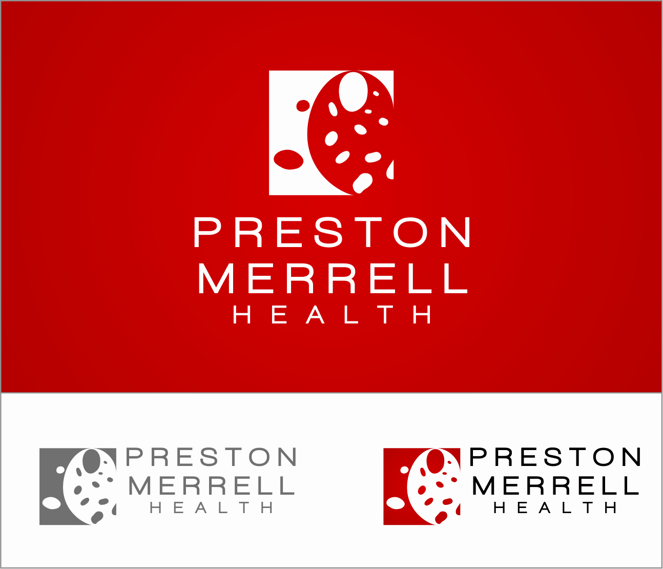 Logo Design by Armada Jamaluddin - Entry No. 227 in the Logo Design Contest Creative Logo Design for Preston Merrell Health.