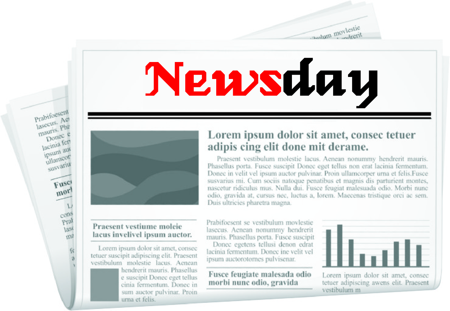 Logo Design by Private User - Entry No. 84 in the Logo Design Contest Artistic Logo Design for Newsday.