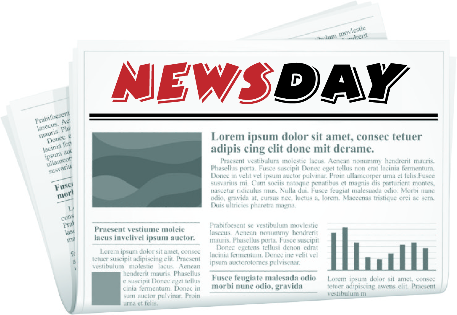 Logo Design by Private User - Entry No. 85 in the Logo Design Contest Artistic Logo Design for Newsday.