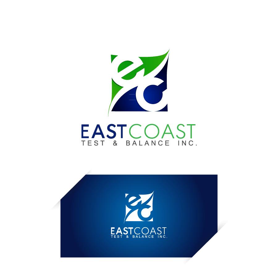 Logo Design by Crismar Cabinian - Entry No. 72 in the Logo Design Contest Logo Design for East Coast Test & Balance, Inc. (ECTB).