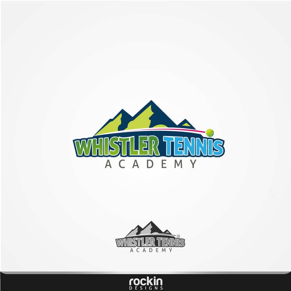 Logo Design by rockin - Entry No. 14 in the Logo Design Contest Imaginative Logo Design for Whistler Tennis Academy.