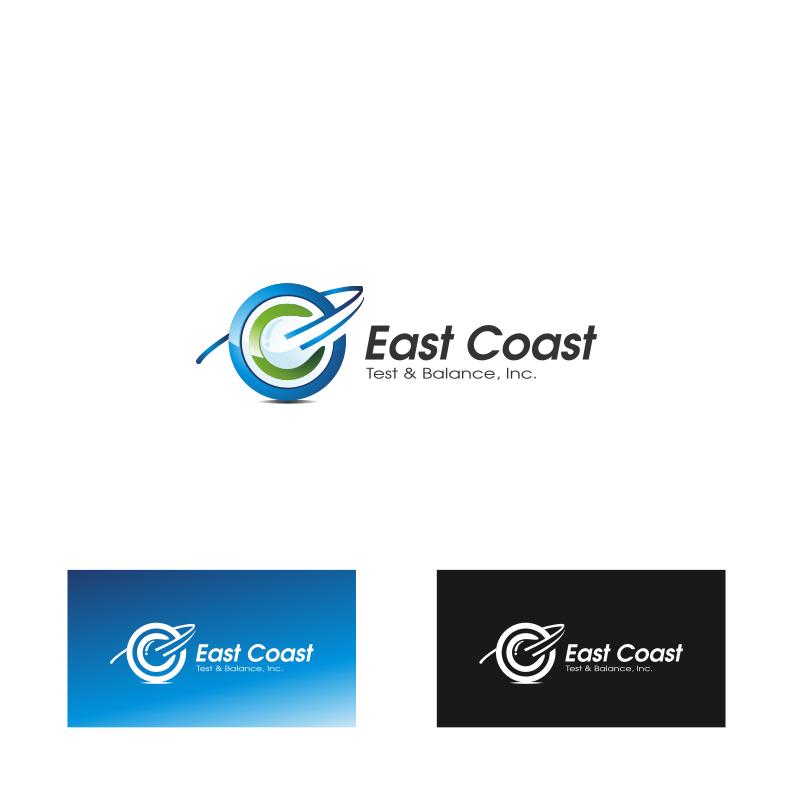 Logo Design by Muhammad Nasrul chasib - Entry No. 73 in the Logo Design Contest Logo Design for East Coast Test & Balance, Inc. (ECTB).
