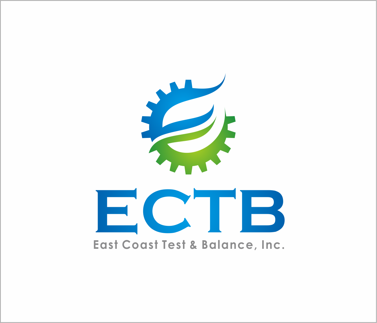 Logo Design by Armada Jamaluddin - Entry No. 74 in the Logo Design Contest Logo Design for East Coast Test & Balance, Inc. (ECTB).