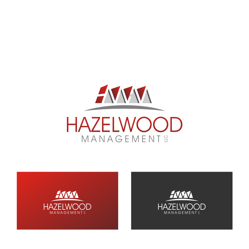 Logo Design by Muhammad Nasrul chasib - Entry No. 65 in the Logo Design Contest Hazelwood Management LLC Logo Design.