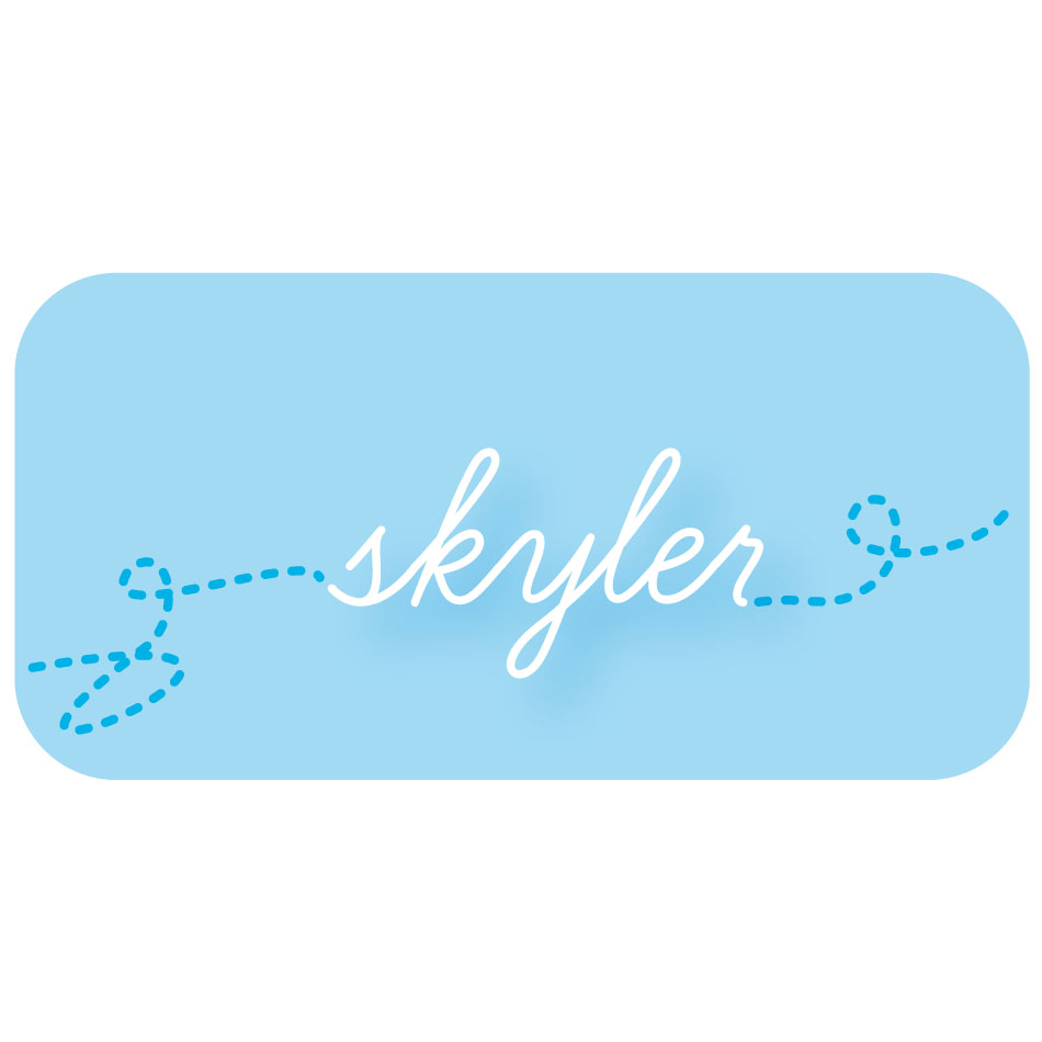 Logo Design by Fran14 - Entry No. 190 in the Logo Design Contest Skyler Clothing Logo.
