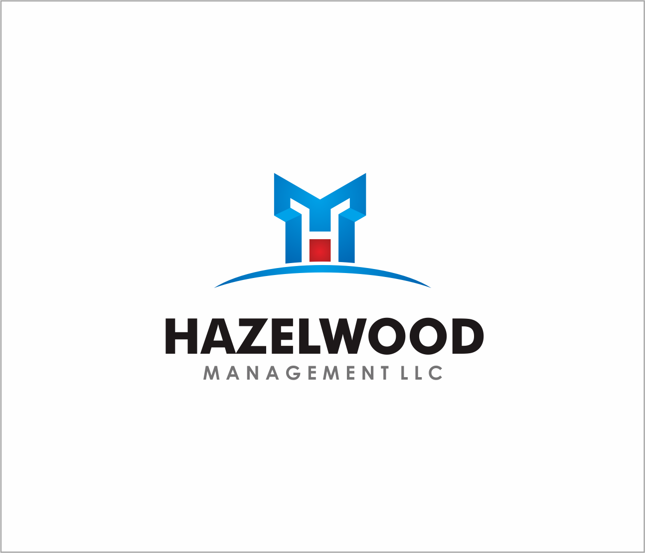 Logo Design by Armada Jamaluddin - Entry No. 67 in the Logo Design Contest Hazelwood Management LLC Logo Design.