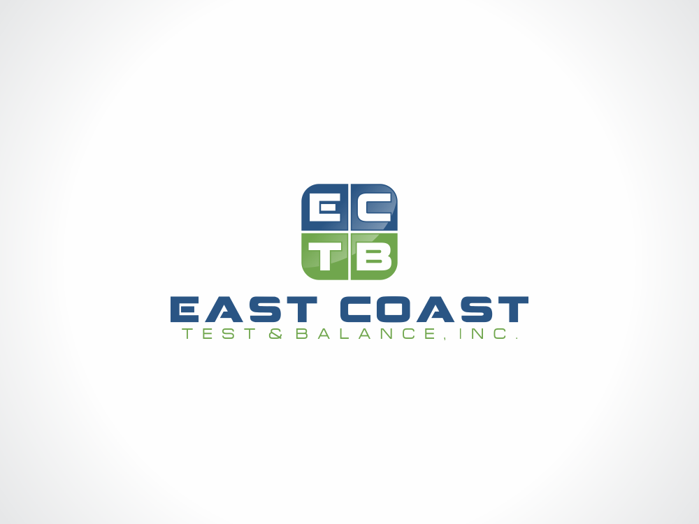Logo Design by Rizwan Saeed - Entry No. 76 in the Logo Design Contest Logo Design for East Coast Test & Balance, Inc. (ECTB).