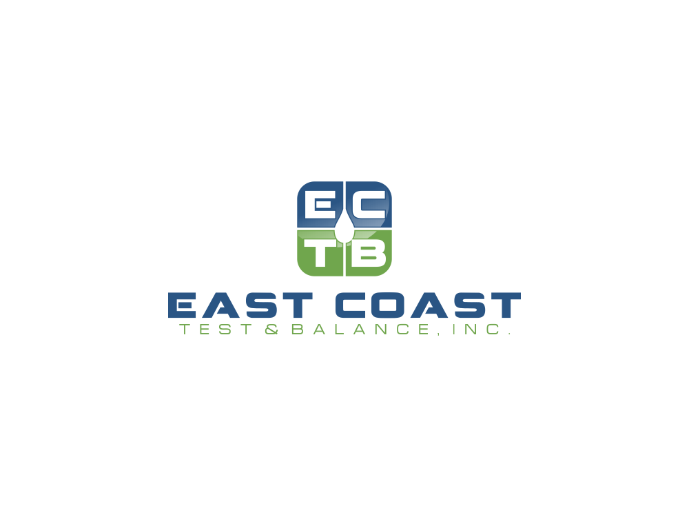 Logo Design by Rizwan Saeed - Entry No. 77 in the Logo Design Contest Logo Design for East Coast Test & Balance, Inc. (ECTB).