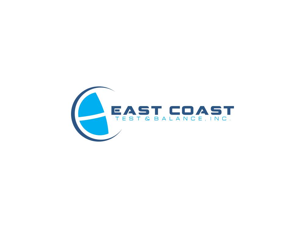 Logo Design by Rizwan Saeed - Entry No. 79 in the Logo Design Contest Logo Design for East Coast Test & Balance, Inc. (ECTB).