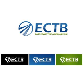 Logo Design by Private User - Entry No. 81 in the Logo Design Contest Logo Design for East Coast Test & Balance, Inc. (ECTB).
