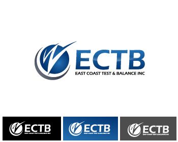 Logo Design by Private User - Entry No. 83 in the Logo Design Contest Logo Design for East Coast Test & Balance, Inc. (ECTB).