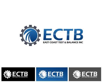 Logo Design by Private User - Entry No. 84 in the Logo Design Contest Logo Design for East Coast Test & Balance, Inc. (ECTB).