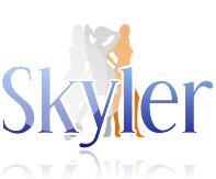 Logo Design by shaqbarry - Entry No. 196 in the Logo Design Contest Skyler Clothing Logo.