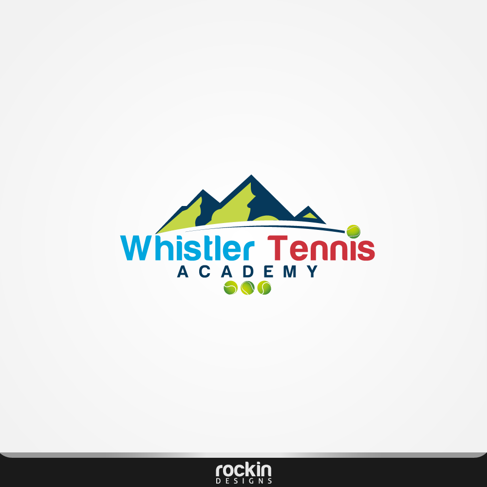 Logo Design by rockin - Entry No. 22 in the Logo Design Contest Imaginative Logo Design for Whistler Tennis Academy.