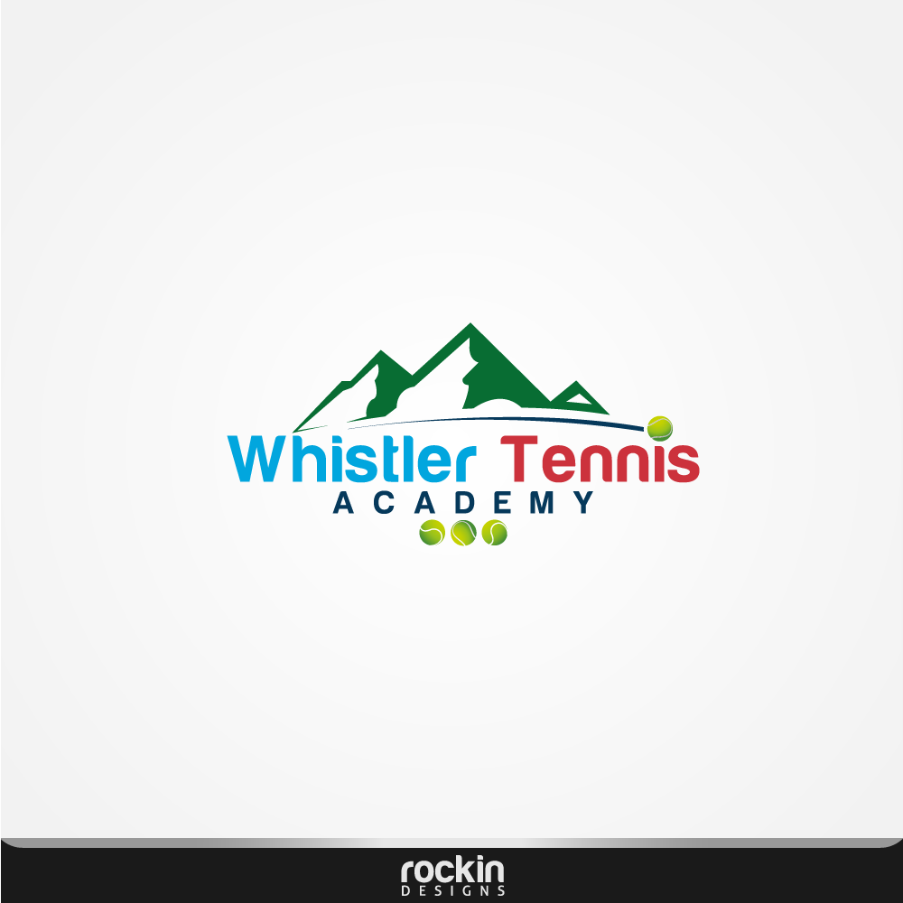 Logo Design by rockin - Entry No. 23 in the Logo Design Contest Imaginative Logo Design for Whistler Tennis Academy.