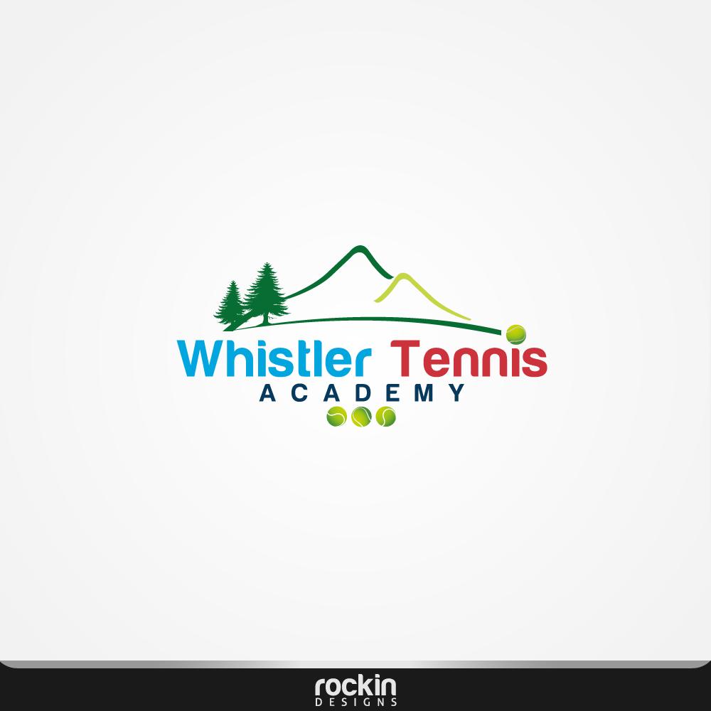 Logo Design by rockin - Entry No. 24 in the Logo Design Contest Imaginative Logo Design for Whistler Tennis Academy.