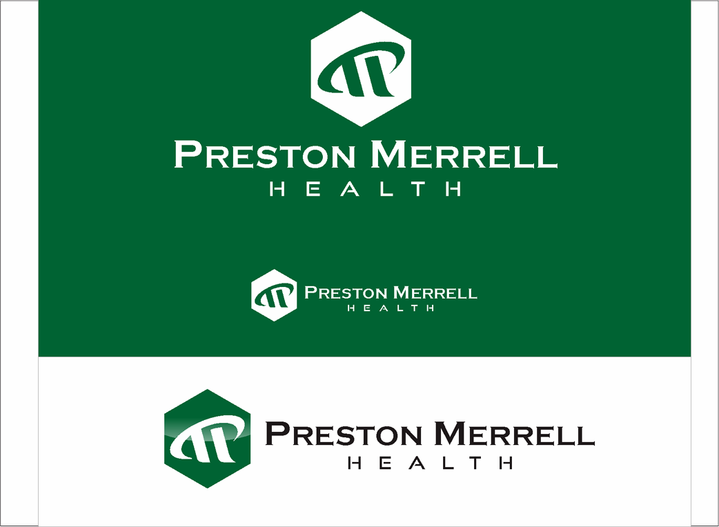 Logo Design by Armada Jamaluddin - Entry No. 240 in the Logo Design Contest Creative Logo Design for Preston Merrell Health.