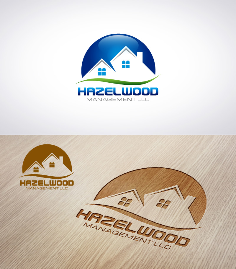 Logo Design by Puspita Wahyuni - Entry No. 78 in the Logo Design Contest Hazelwood Management LLC Logo Design.