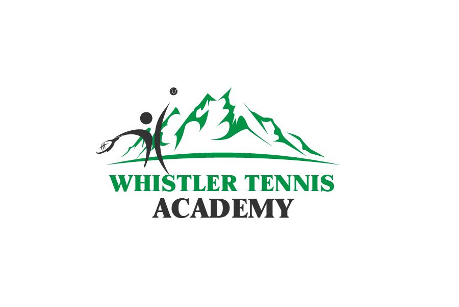 Logo Design by Private User - Entry No. 28 in the Logo Design Contest Imaginative Logo Design for Whistler Tennis Academy.