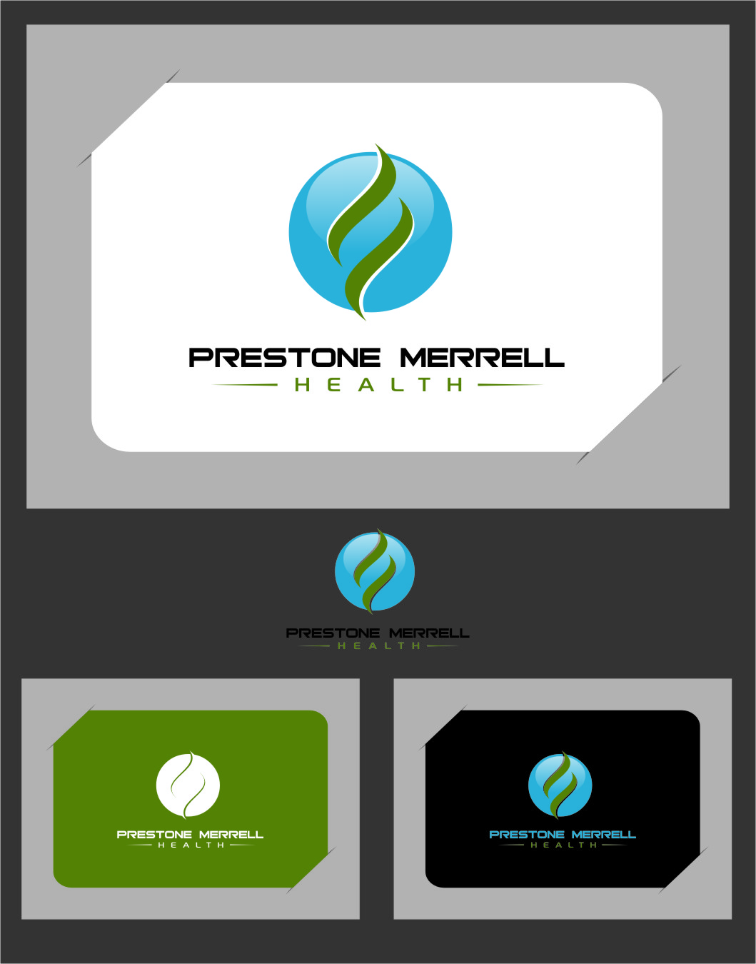 Logo Design by Ngepet_art - Entry No. 246 in the Logo Design Contest Creative Logo Design for Preston Merrell Health.