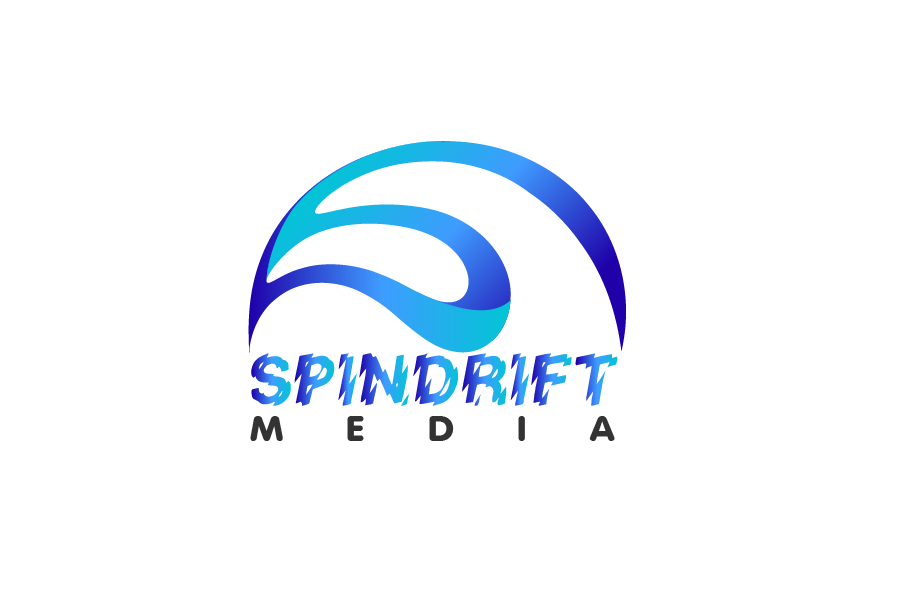 Logo Design by Private User - Entry No. 65 in the Logo Design Contest Inspiring Logo Design for Spindrift Media.
