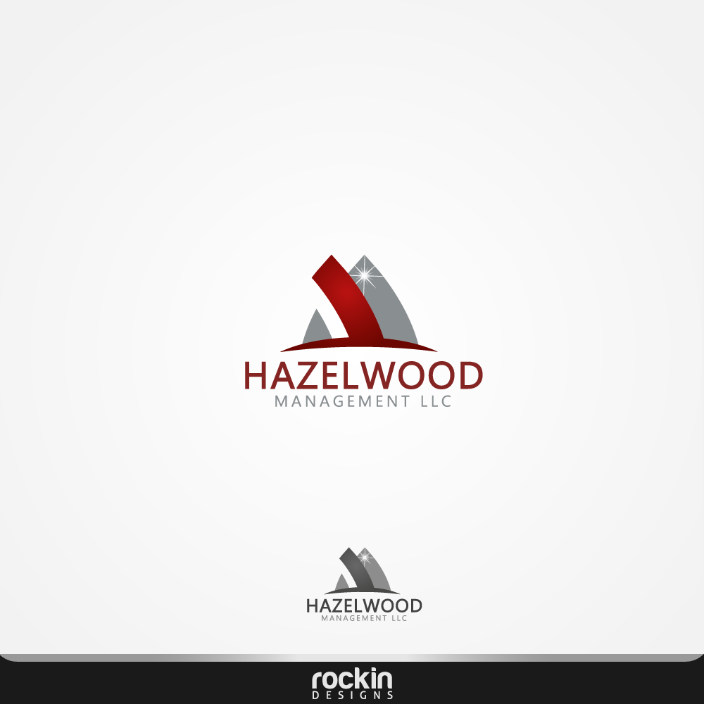 Logo Design by rockin - Entry No. 80 in the Logo Design Contest Hazelwood Management LLC Logo Design.