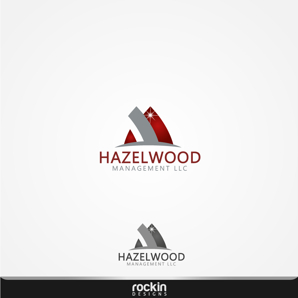 Logo Design by rockin - Entry No. 81 in the Logo Design Contest Hazelwood Management LLC Logo Design.