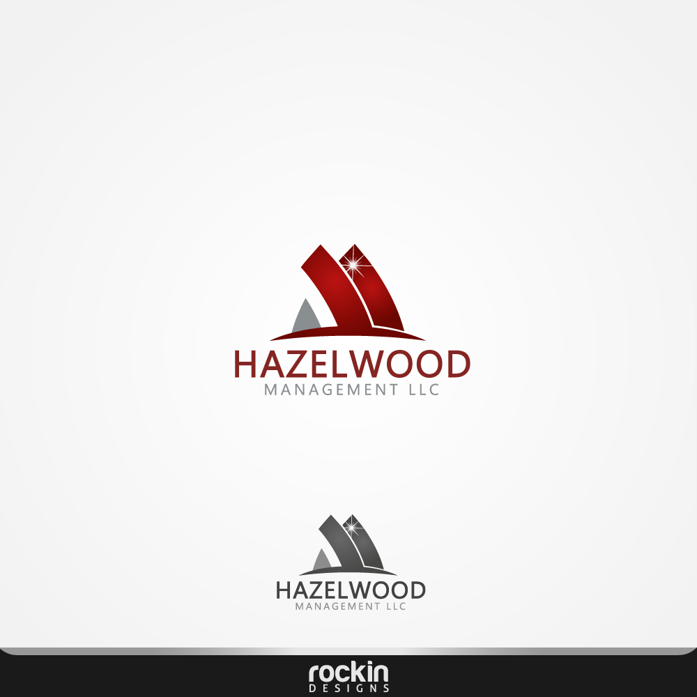 Logo Design by rockin - Entry No. 82 in the Logo Design Contest Hazelwood Management LLC Logo Design.