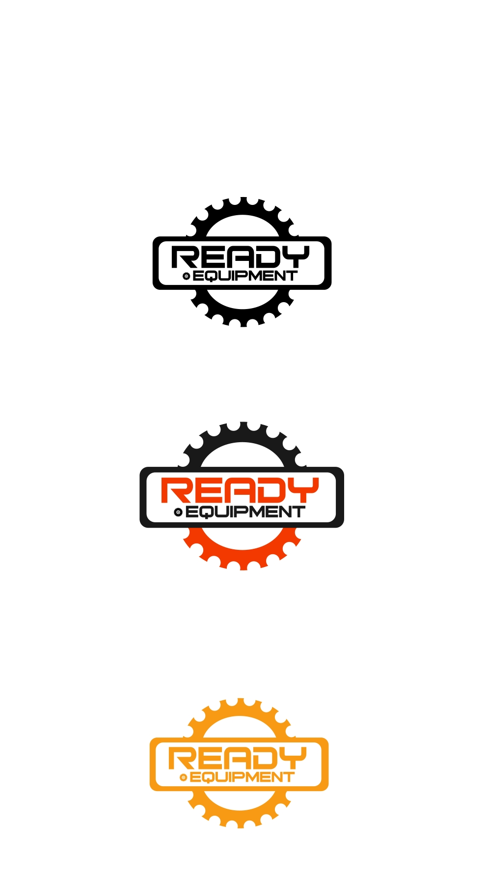 Logo Design by Private User - Entry No. 21 in the Logo Design Contest Ready Equipment  Logo Design.