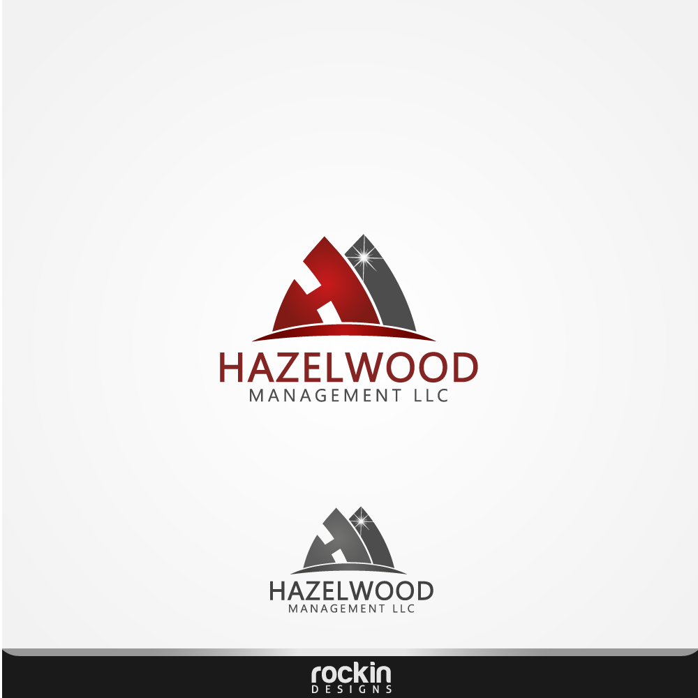 Logo Design by rockin - Entry No. 88 in the Logo Design Contest Hazelwood Management LLC Logo Design.