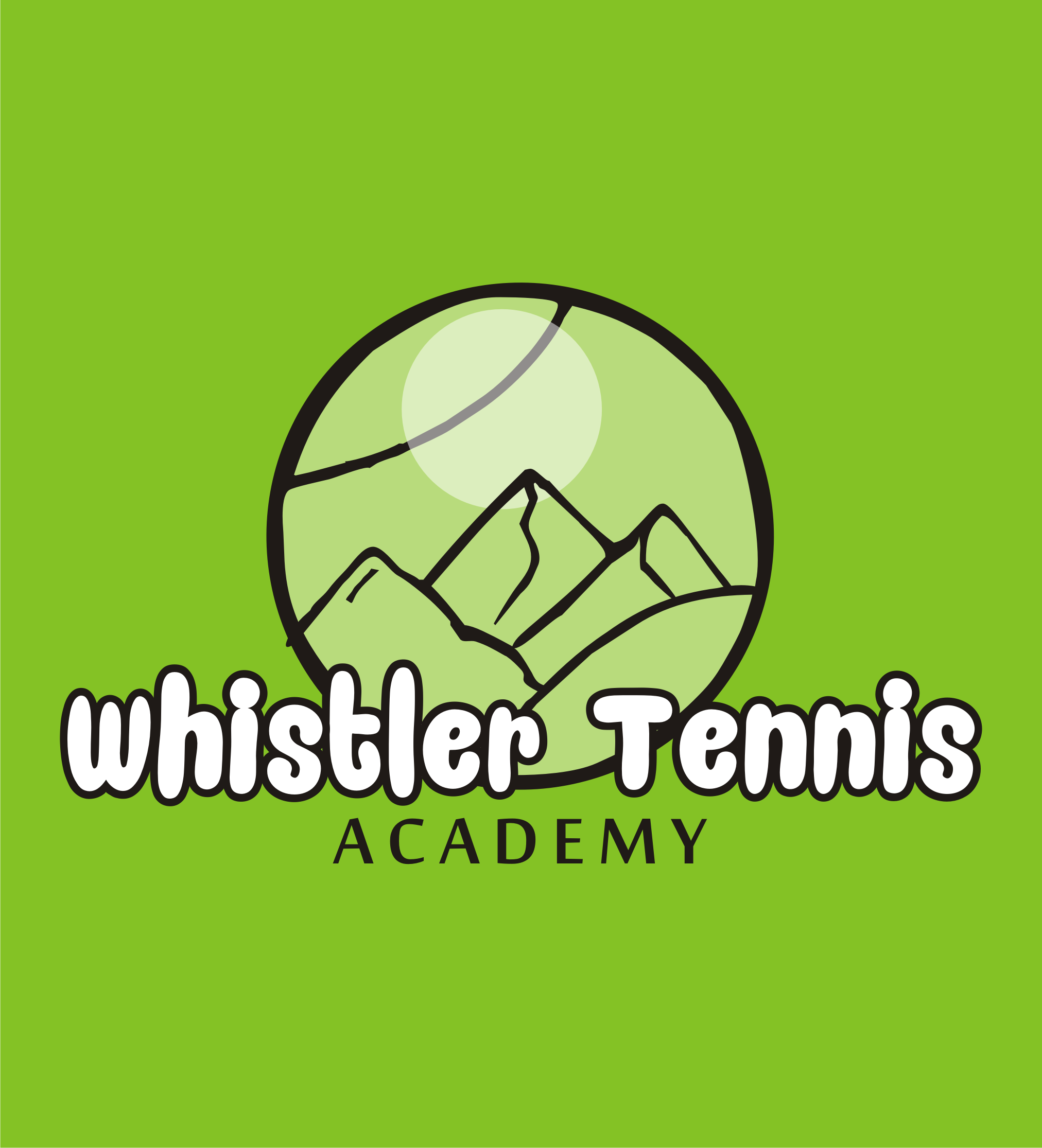 Logo Design by Nthus Nthis - Entry No. 35 in the Logo Design Contest Imaginative Logo Design for Whistler Tennis Academy.