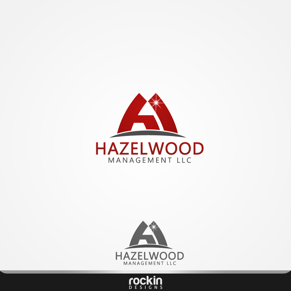 Logo Design by rockin - Entry No. 89 in the Logo Design Contest Hazelwood Management LLC Logo Design.
