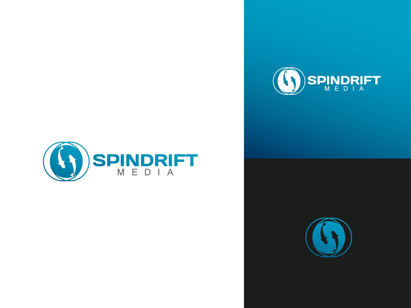 Logo Design by Osi Indra - Entry No. 68 in the Logo Design Contest Inspiring Logo Design for Spindrift Media.