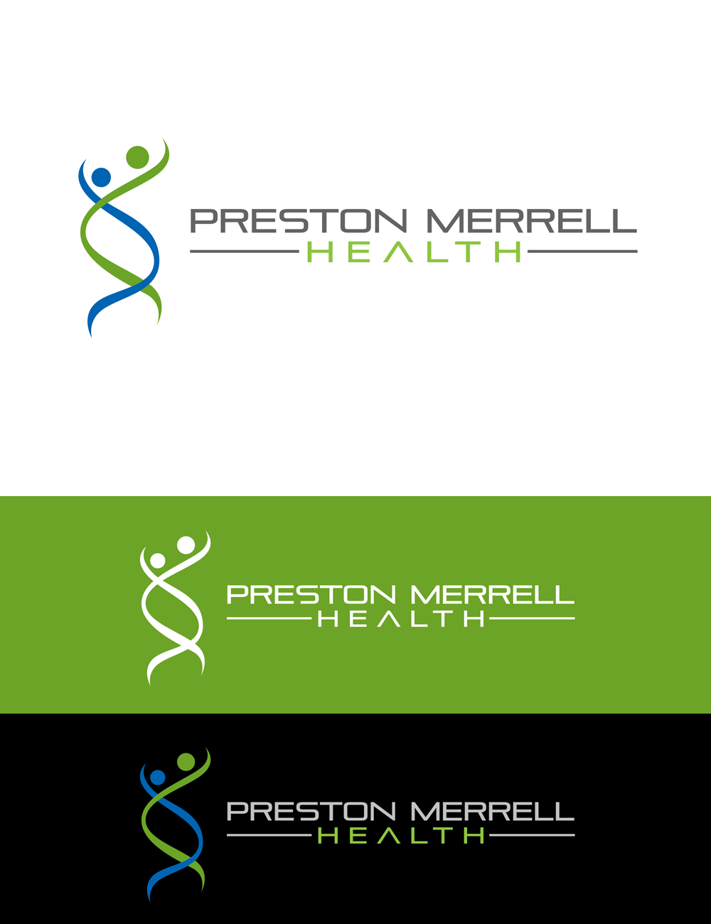 Logo Design by Robert Turla - Entry No. 263 in the Logo Design Contest Creative Logo Design for Preston Merrell Health.