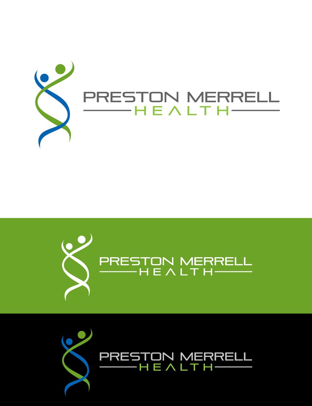 Logo Design by Private User - Entry No. 263 in the Logo Design Contest Creative Logo Design for Preston Merrell Health.