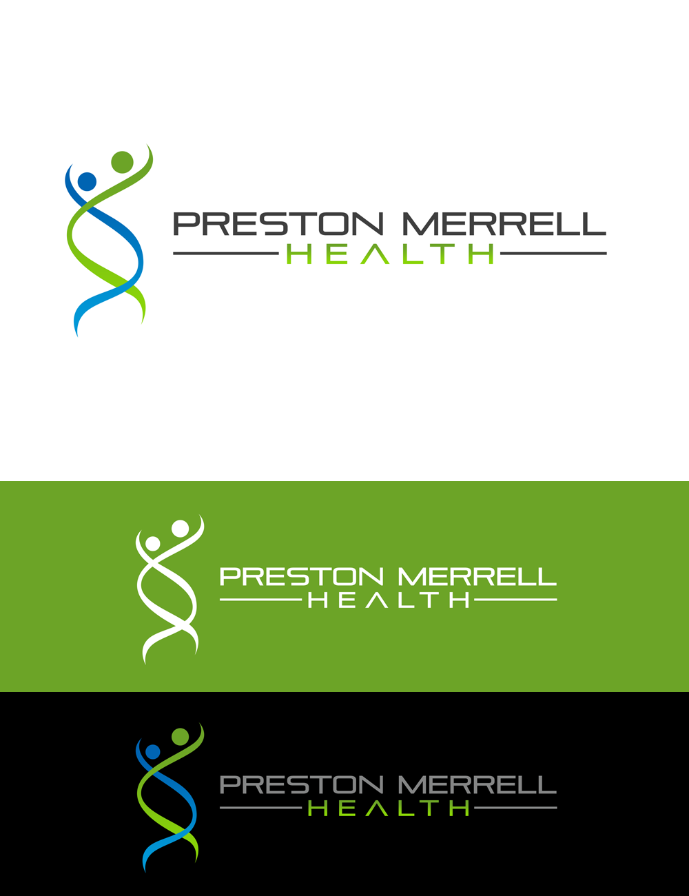 Logo Design by Robert Turla - Entry No. 264 in the Logo Design Contest Creative Logo Design for Preston Merrell Health.