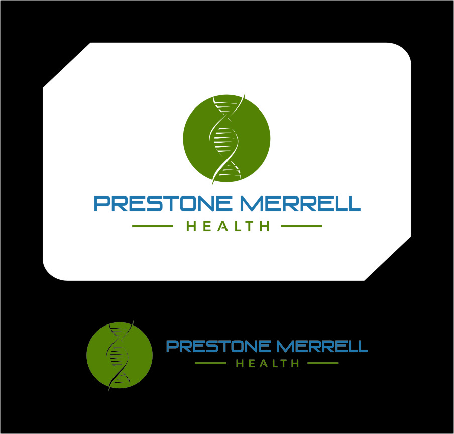Logo Design by Ngepet_art - Entry No. 271 in the Logo Design Contest Creative Logo Design for Preston Merrell Health.