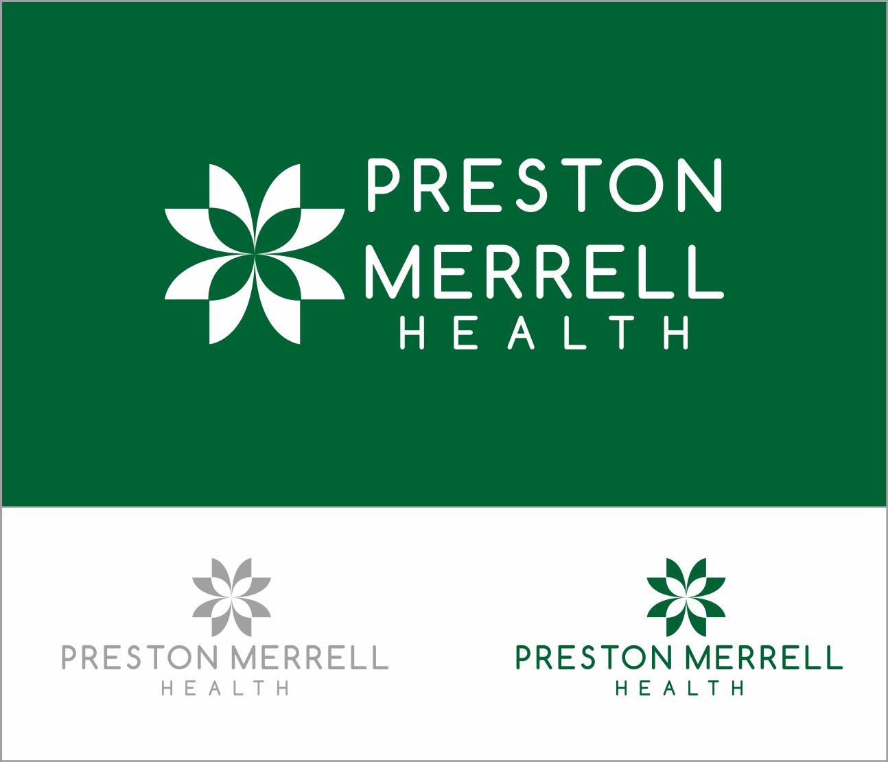 Logo Design by Armada Jamaluddin - Entry No. 274 in the Logo Design Contest Creative Logo Design for Preston Merrell Health.