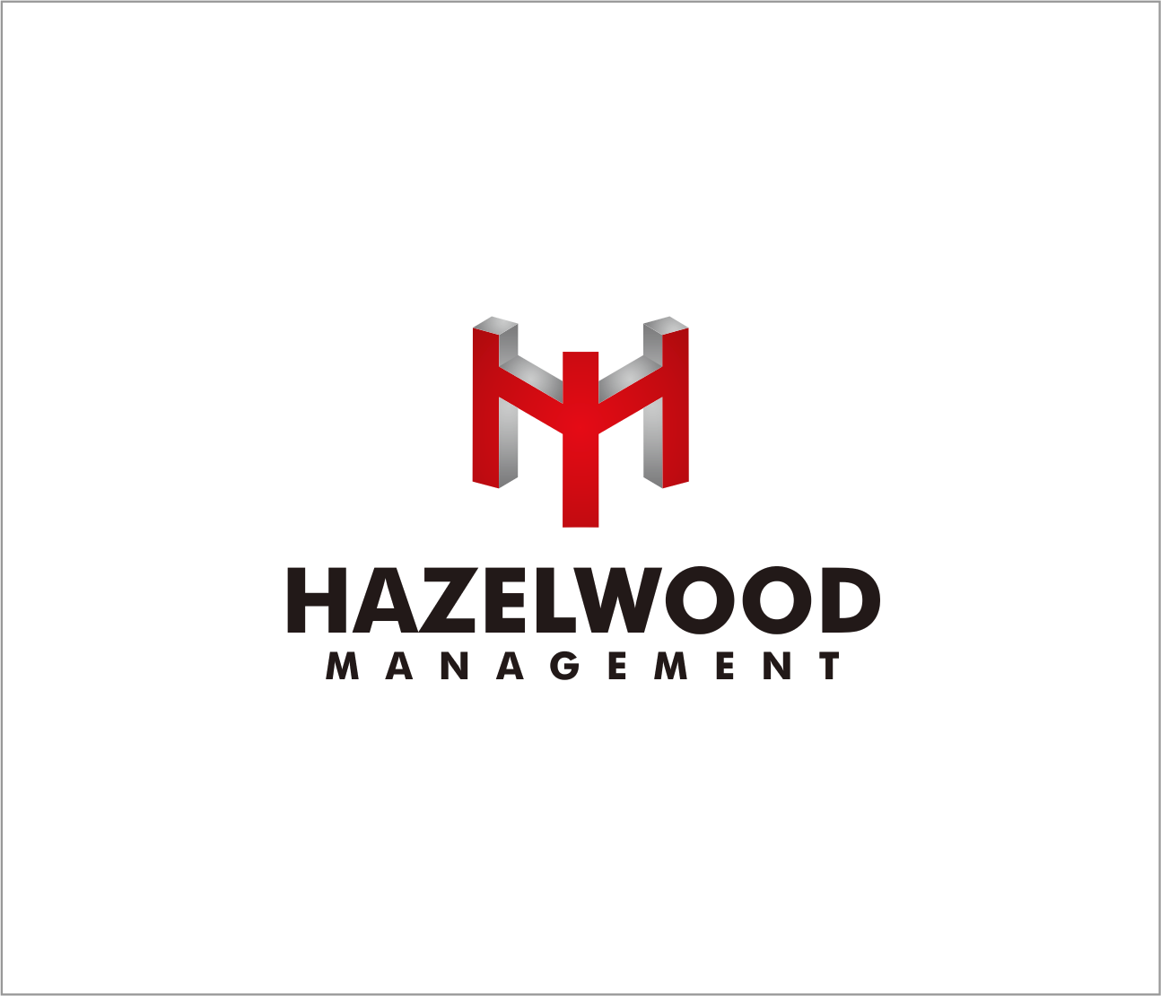 Logo Design by Armada Jamaluddin - Entry No. 92 in the Logo Design Contest Hazelwood Management LLC Logo Design.