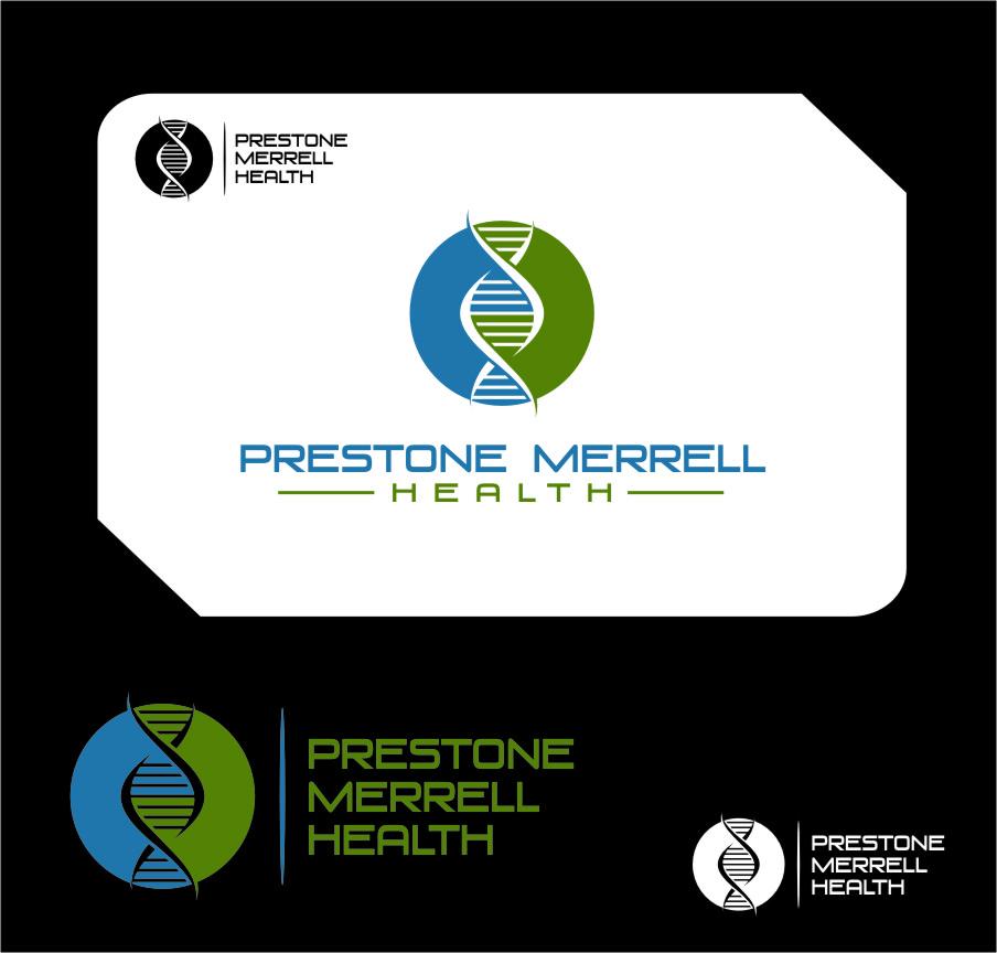 Logo Design by Ngepet_art - Entry No. 278 in the Logo Design Contest Creative Logo Design for Preston Merrell Health.