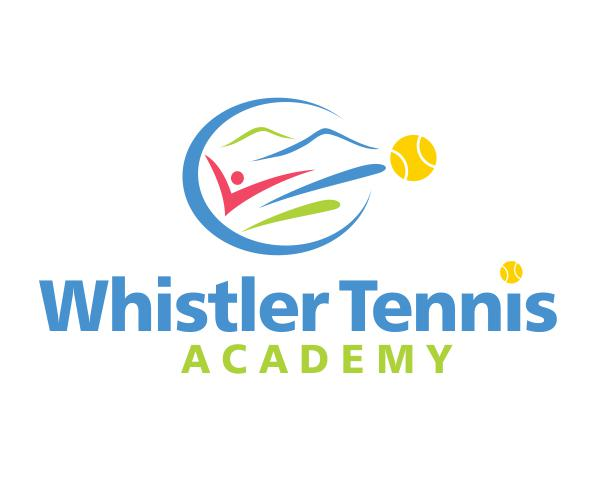 Logo Design by ronny - Entry No. 44 in the Logo Design Contest Imaginative Logo Design for Whistler Tennis Academy.