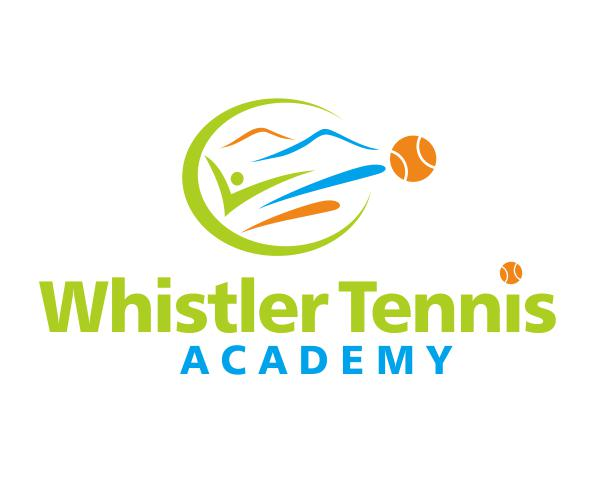 Logo Design by ronny - Entry No. 45 in the Logo Design Contest Imaginative Logo Design for Whistler Tennis Academy.