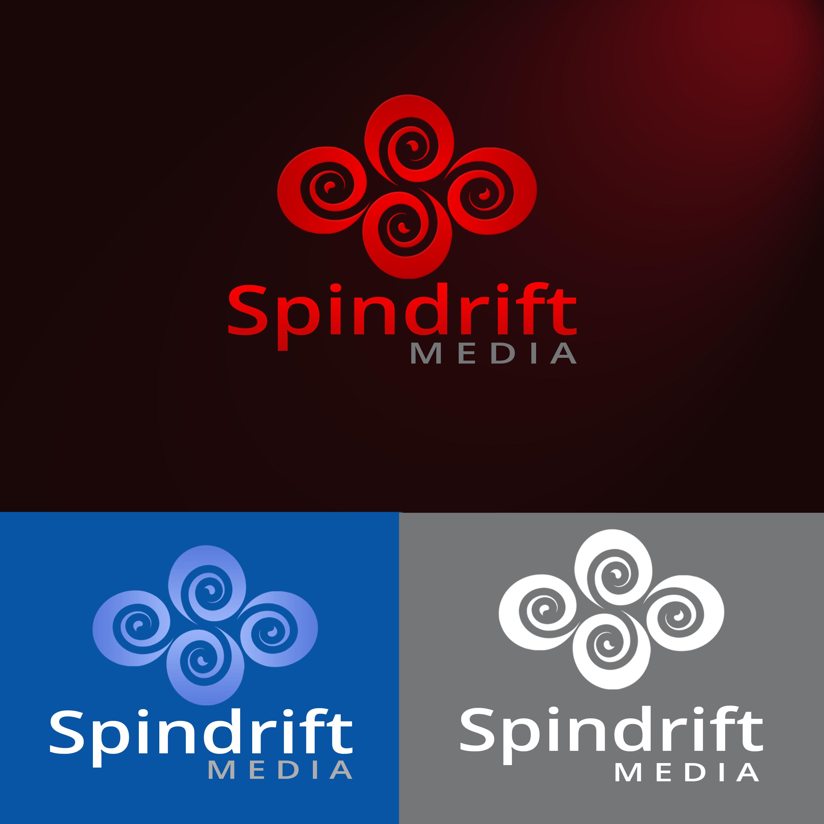 Logo Design by Allan Esclamado - Entry No. 82 in the Logo Design Contest Inspiring Logo Design for Spindrift Media.