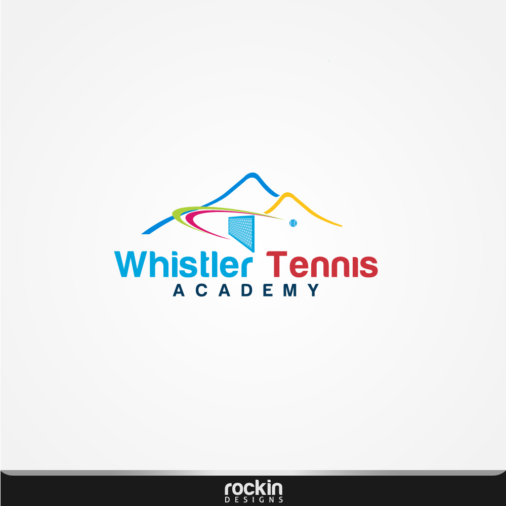 Logo Design by rockin - Entry No. 52 in the Logo Design Contest Imaginative Logo Design for Whistler Tennis Academy.