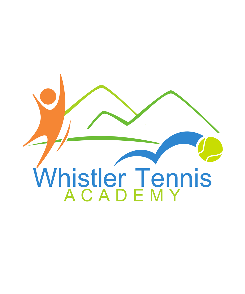 Logo Design by Robert Turla - Entry No. 55 in the Logo Design Contest Imaginative Logo Design for Whistler Tennis Academy.